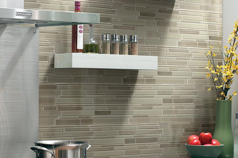 Custom tile backsplash in Lehigh, FL from Floorz