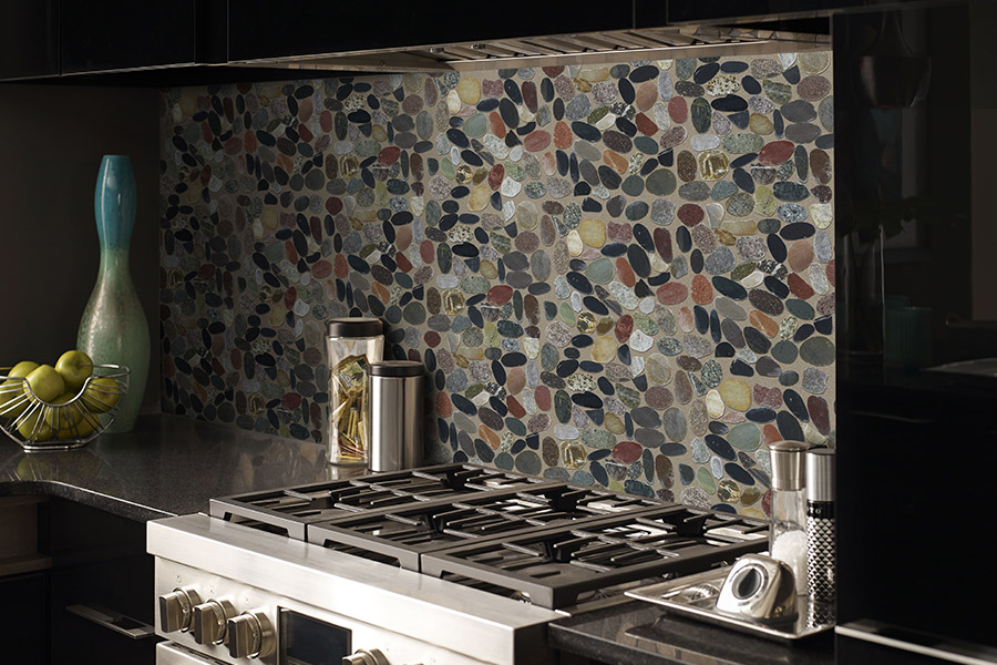Custom tile backsplash in McHenry, IL from Value Discount Flooring