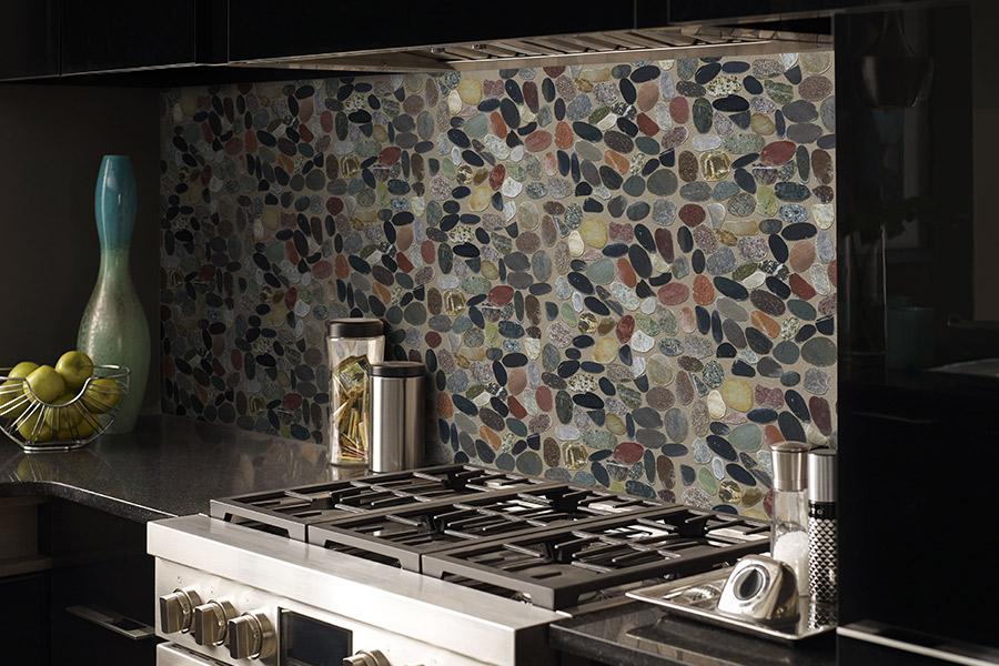 Custom tile backsplash in Mount Pleasant, SC from Flooring Factory