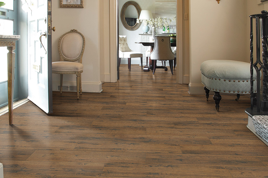 Wood look tile flooring in Saratoga, CA from Lambert & Sons Floor Covering