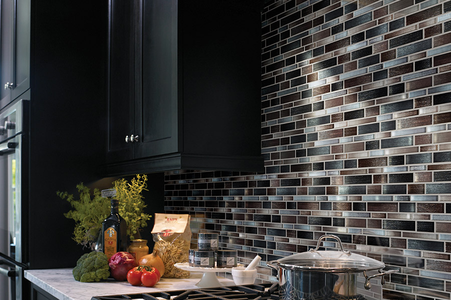 Luxury glass tile in Mankato MN from Independent Paint & Flooring
