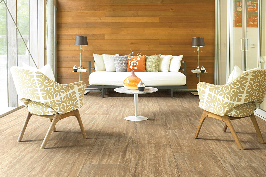 Wood look tile flooring in Naples, TX from Shumate Floor Covering