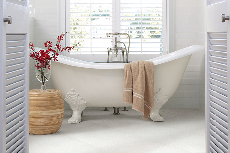 Custom tile bathrooms in Houston, TX from Petra Flooring & Blinds