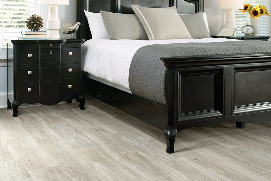 Wood look tile flooring in Yorba Linda, CA from Pat's Carpet