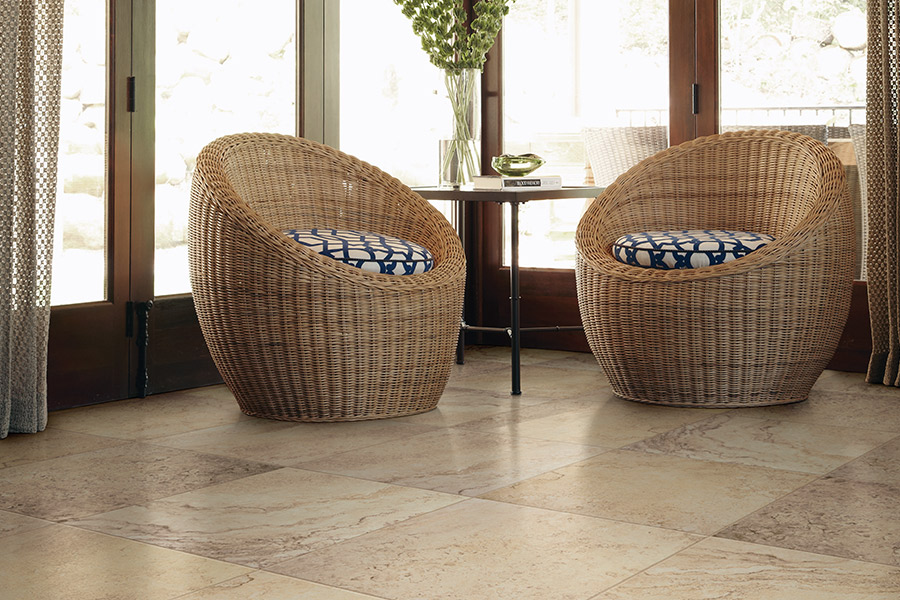 Ceramic tile flooring in Fort Walton Beach FL from Best Buy Carpet