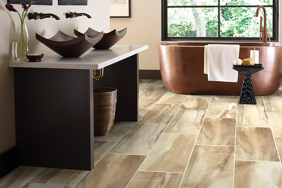 Wood look tile flooring in Williamstown, NJ from A&J Flooring Outlet