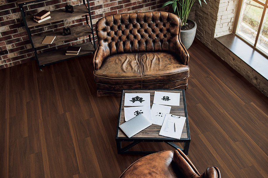 The Burlingame, CA area's best waterproof flooring store is Luxor Floors