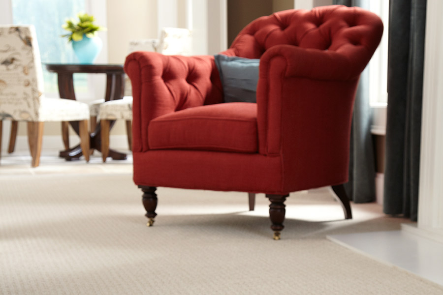 Beautiful textured carpet in Huntsville, OH from Fissel Floor Covering