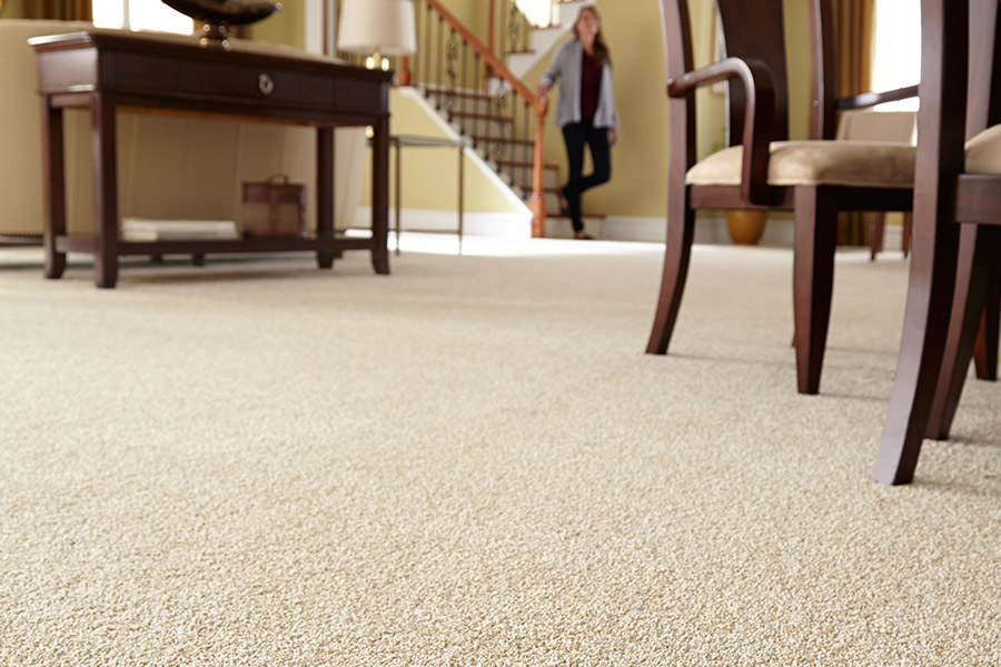 Beautiful textured carpet in Huntington Beach, CA from Cornerstone Floors