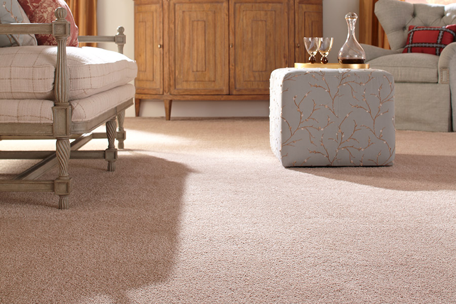 Beautiful textured carpet in Bountiful UT from Allman's Carpet & Flooring