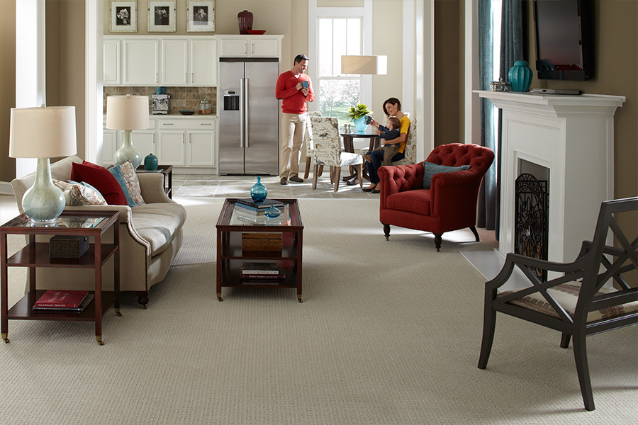 SmartStrand Silk carpet installation in Castle Rock, CO by Colorado Carpet & Flooring, Inc.