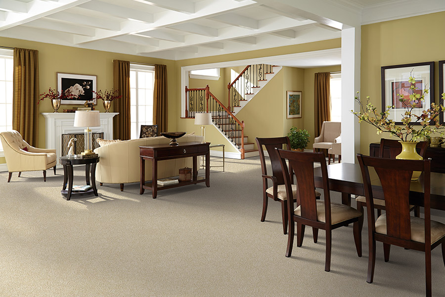 Carpet installation in Carolina Forest, SC from Young Interiors Flooring Center