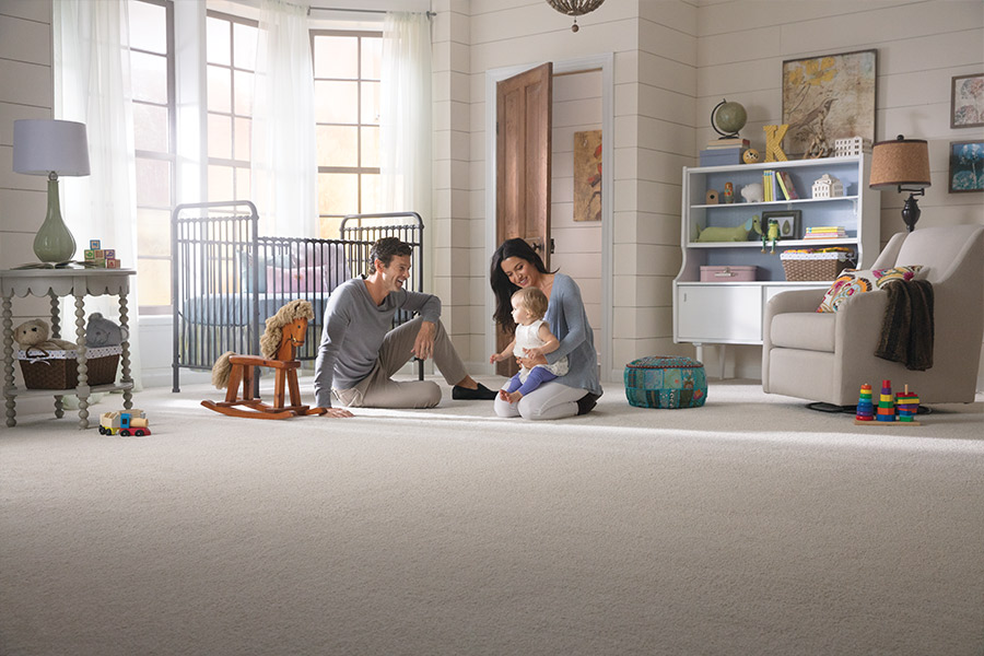 Family friendly carpet in Clover, SC from Williamson Flooring