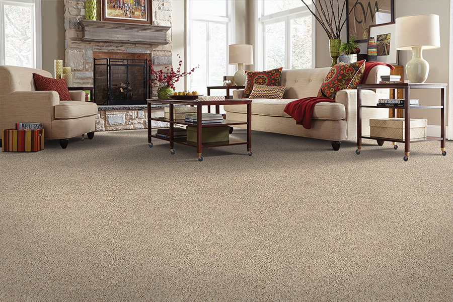 Beautiful textured carpet in Lansdale, PA from Hanna Eadeh Flooring Company