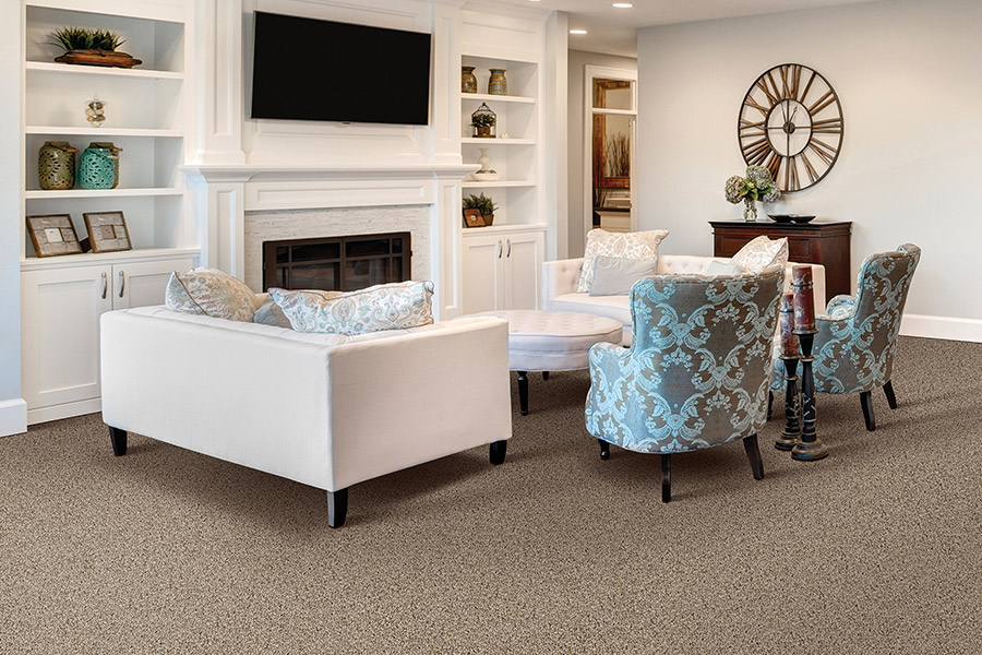 Beautiful textured carpet in Pinehurst, NC from Total House + Flooring