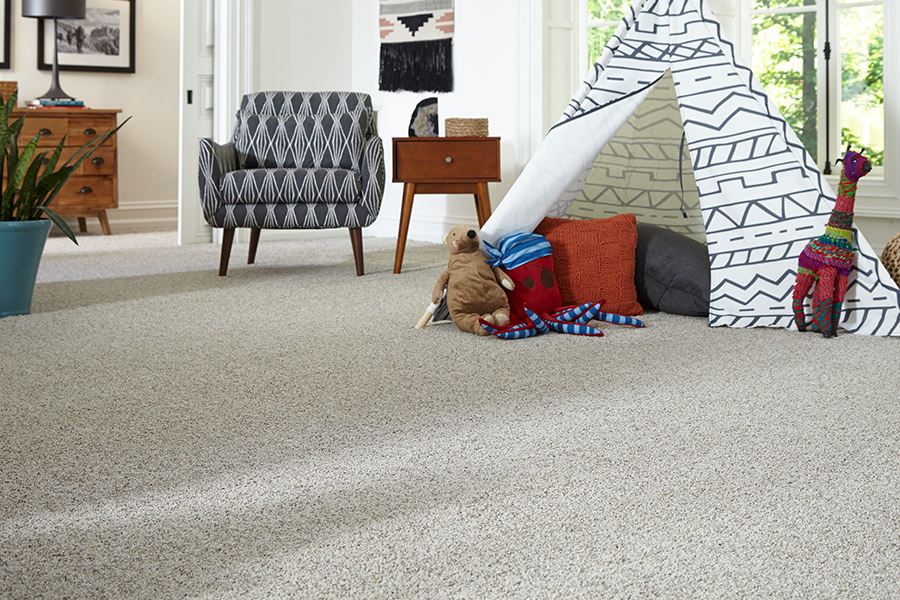 Beautiful textured carpet in Webster, TX from Trademark Flooring & Remodeling