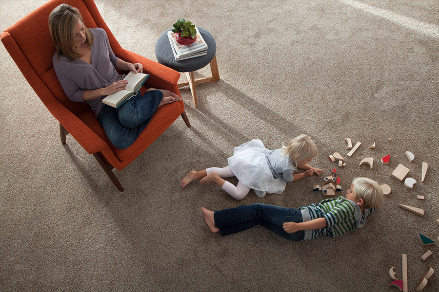 Family friendly carpet in Amarillo, TX from Budget Floors