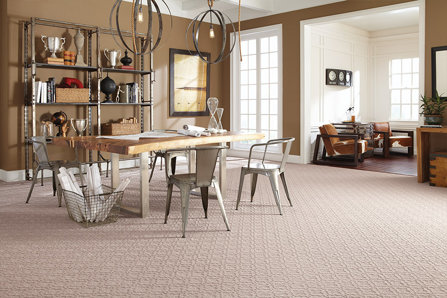 Beautiful textured carpet in Pelham, NY from Allen Carpet
