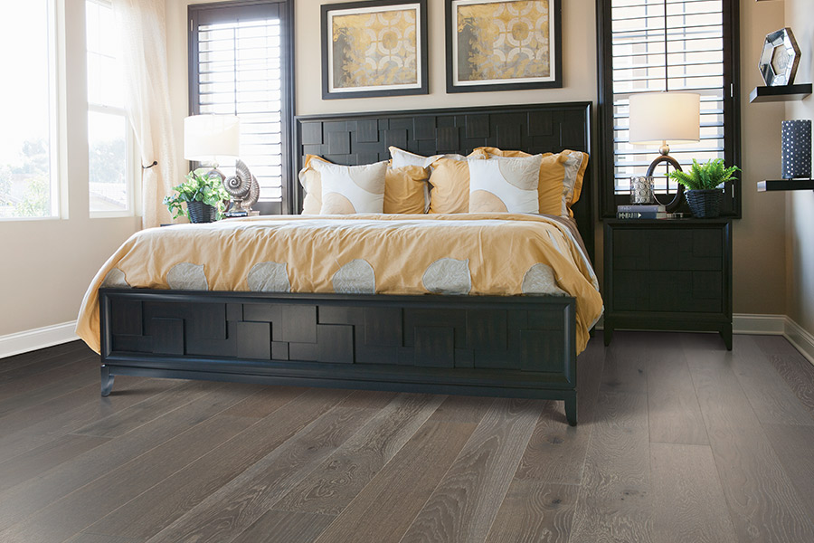 Contemporary wood flooring in Huntington Beach, CA from Cornerstone Floors