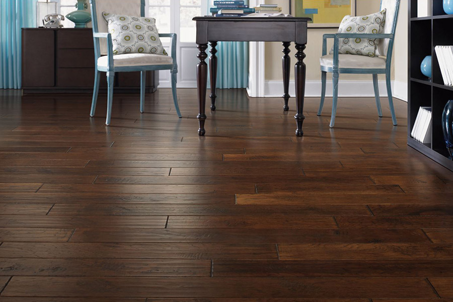Contemporary wood flooring in Marion County, IN from The Carpet Man