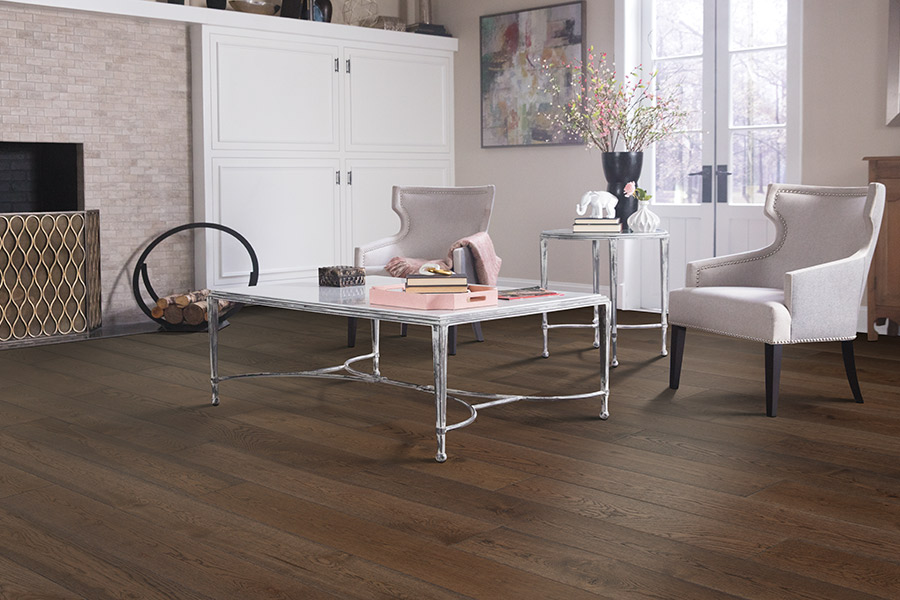 Contemporary wood flooring in Natick, MA from Creative Carpet