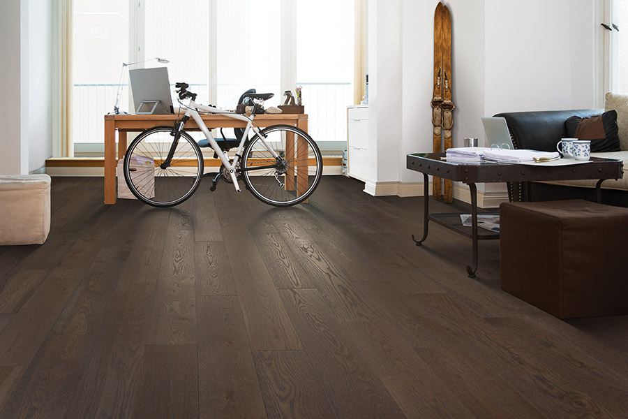 Durable wood floors in