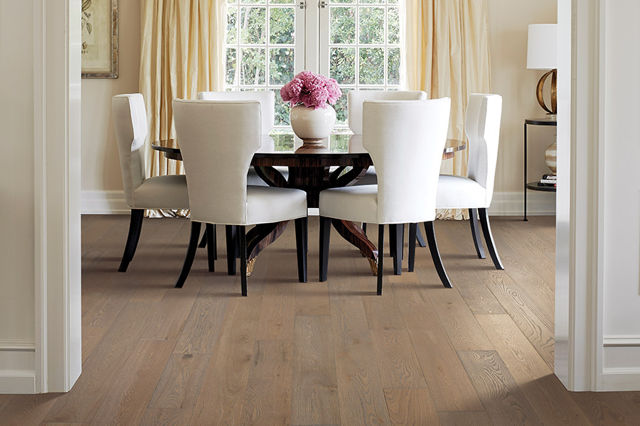 Hardwood floor installation in Fort Collins, CO from Carpet Solutions & More