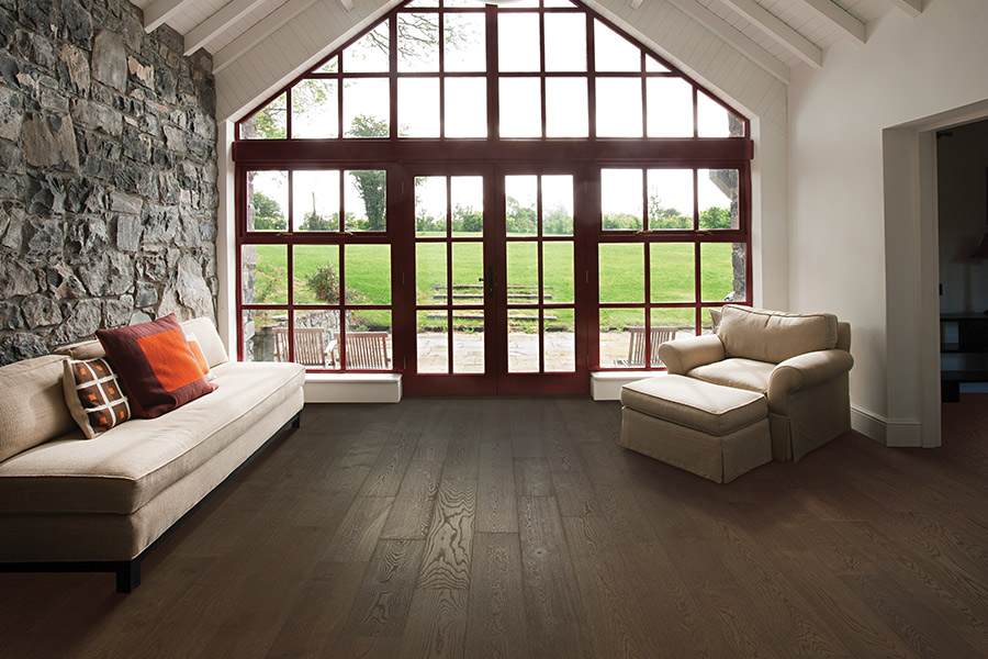 Contemporary wood flooring in Cupertino, CA from The Carpet Center