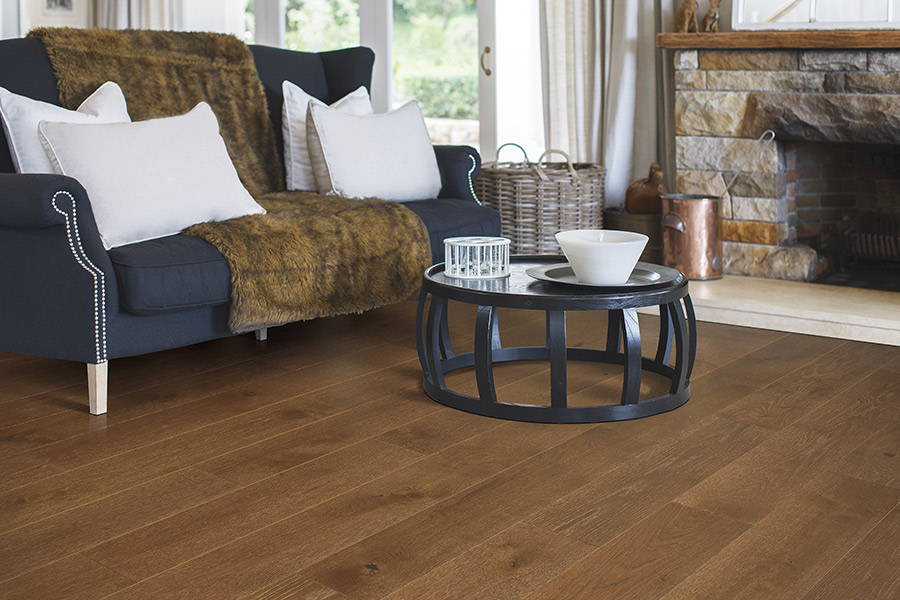 Modern hardwood flooring ideas in Monroe, CT from Red Baron Carpet