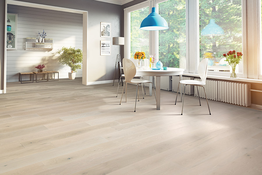 Hardwood flooring in