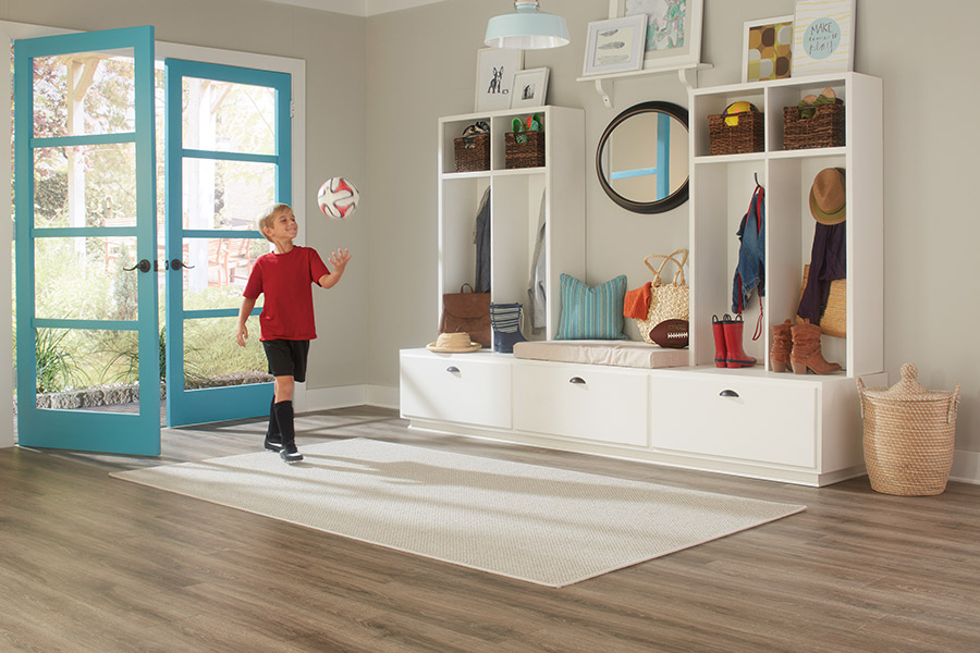 Family friendly laminate floors in Timberwood Park, TX from Carlson's Flooring