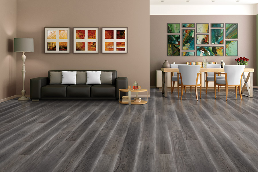 Laminate floor accents in Peoria, AZ from Cornerstone Flooring Brokers