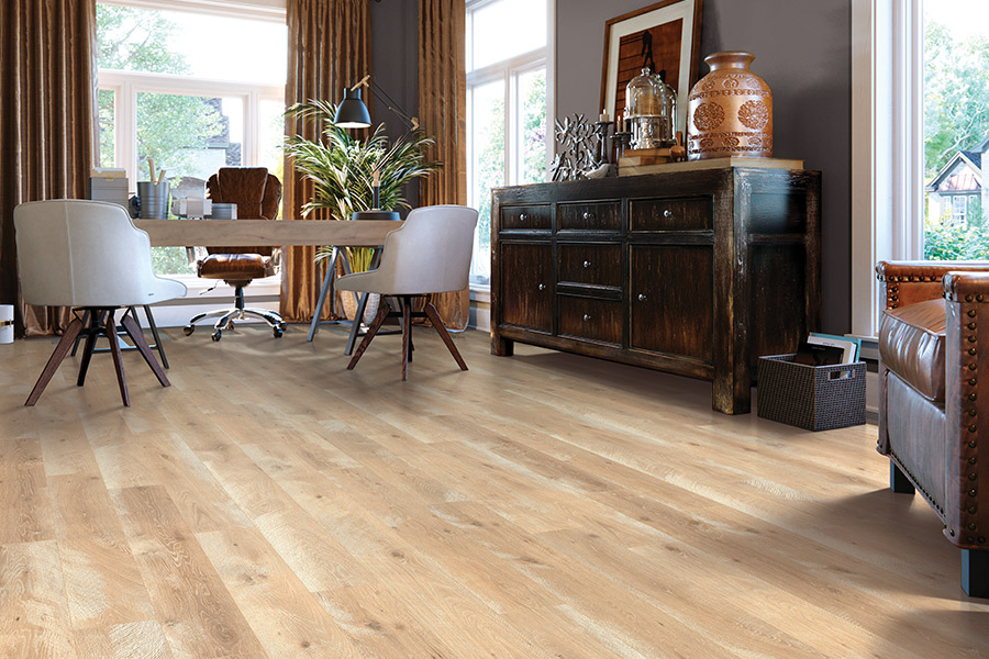 Laminate floor installation in San Antonio, TX from Carlson's Flooring