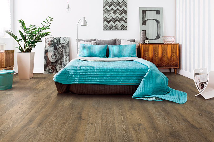 Wood look laminate flooring in Mill Valley, CA from California Carpet