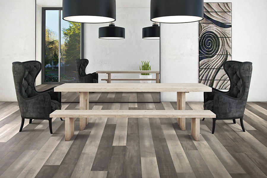 Modern laminate flooring planks in Los Gatos, CA from Conklin Bros. Floor Coverings