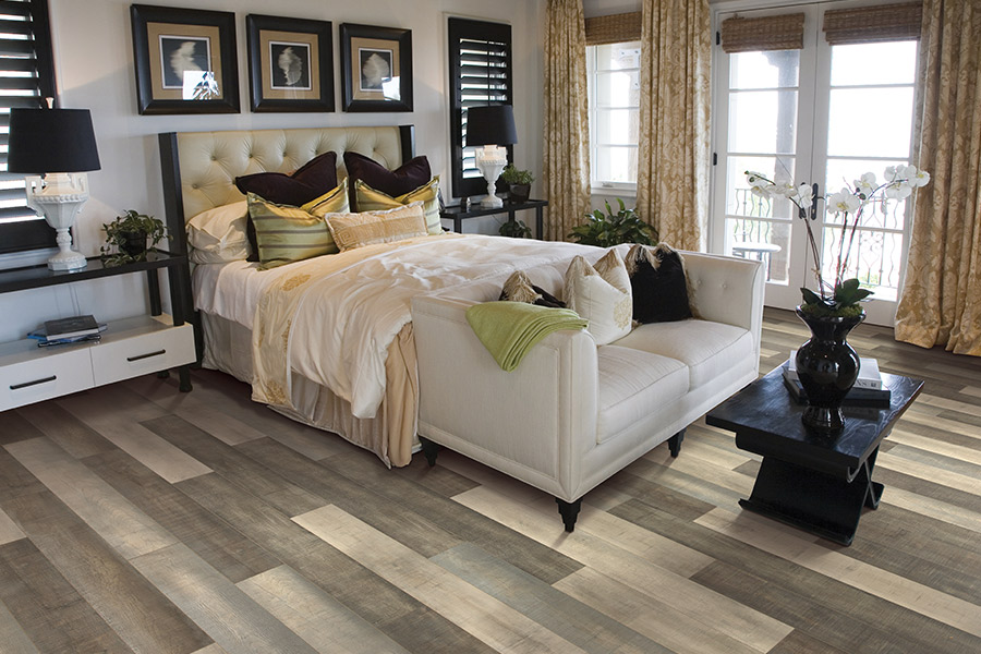 Wood look laminate flooring in Chester, PA from Wall to Wall Floor Covering