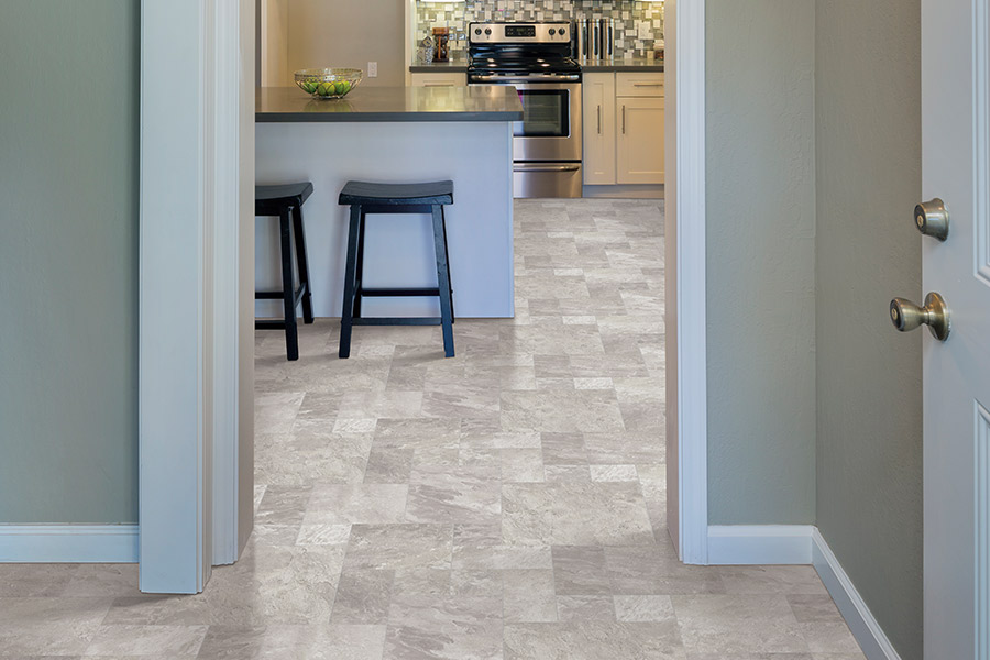 Luxury vinyl tile in St Cloud FL from All Flooring USA