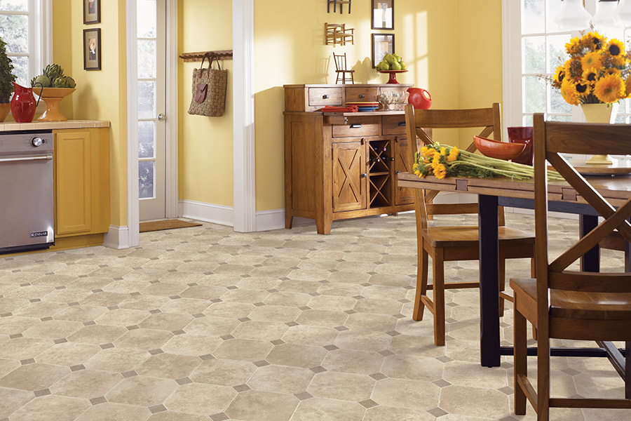 The Manchester, IA area's best luxury vinyl flooring store is Kluesner Flooring