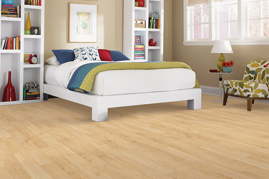 Wood look luxury vinyl plank flooring in Falls Church VA from Carpetland