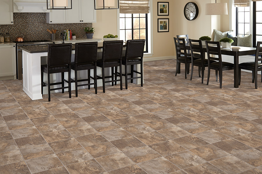 Luxury vinyl tile (LVT) flooring in Eastover, NC from Cape Fear Flooring and Restoration