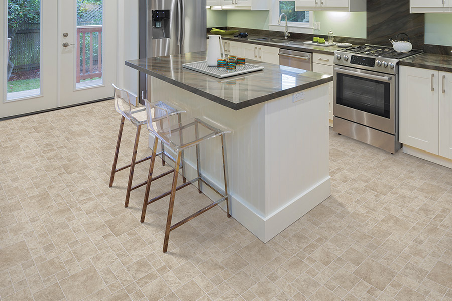Modern vinyl flooring in Rhinelander, WI from Carpet City