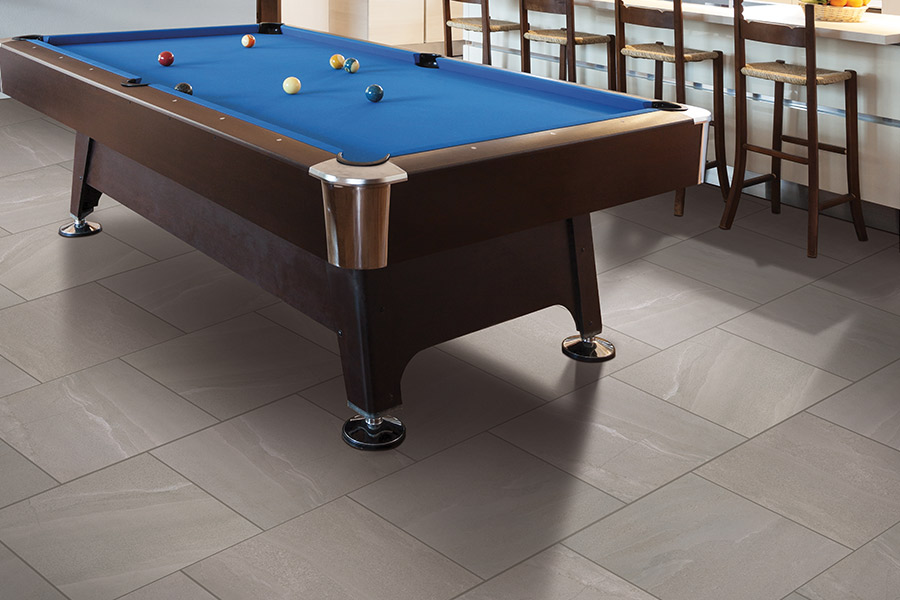 Family friendly tile flooring in
