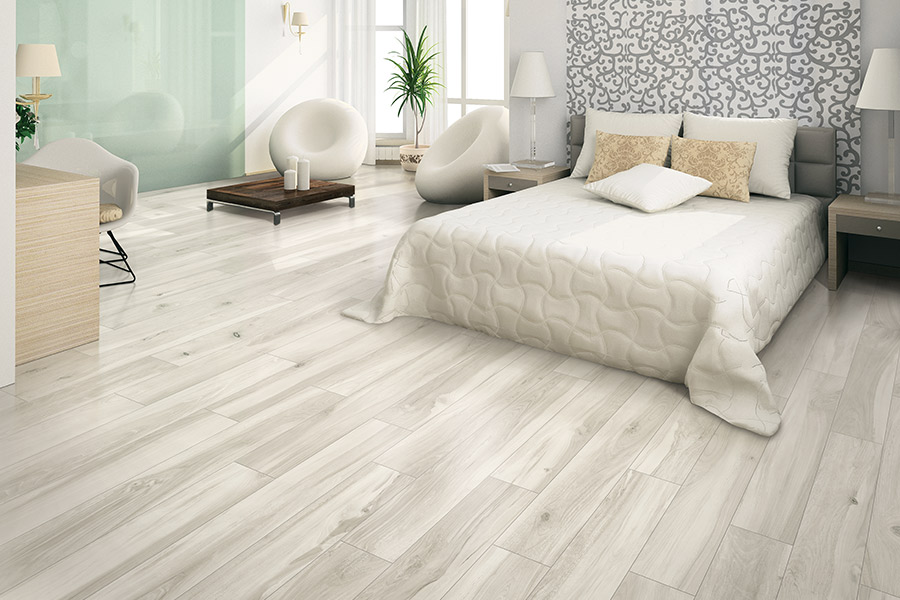 Wood look tile flooring in Fox Valley, IL from Universal Carpet Inc.
