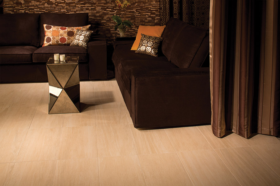 Rich natural stone flooring in St. Paul, MN from zFloors by Zerorez