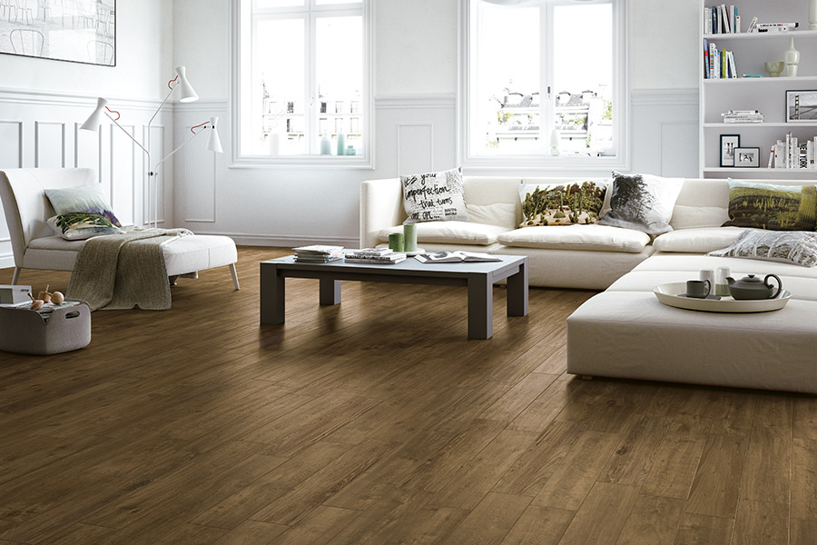 Wood look tile floors in Provo UT from Halifax Flooring
