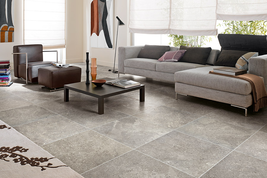 Rich natural stone flooring in Homer Glen, IL from Sherlock's Carpet & Tile