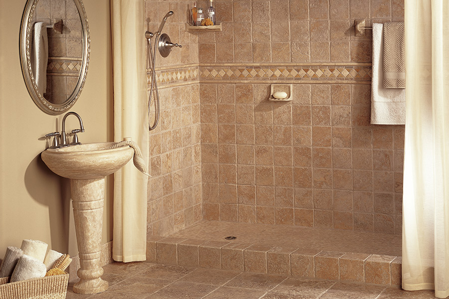 Custom tile bathrooms in Amherst, MA from Summerlin Floors