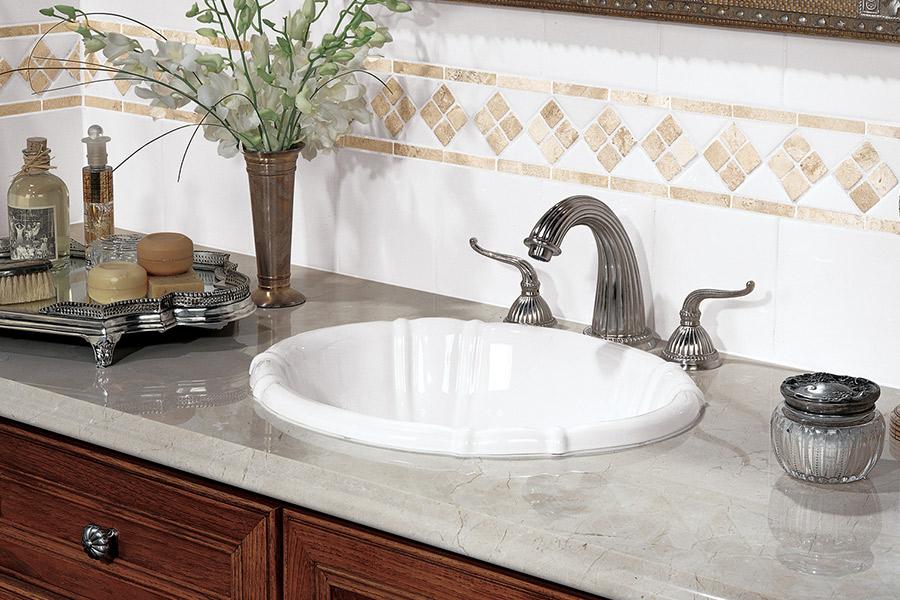 Marble countertops in Edmonds, WA from Wills Flooring