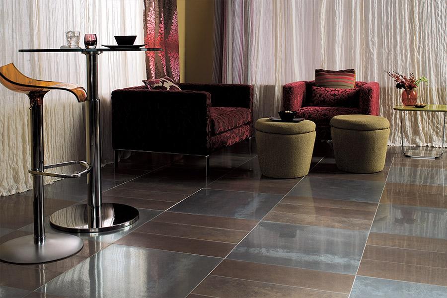 Seamless tile floors in Atlanta area by Select Floors