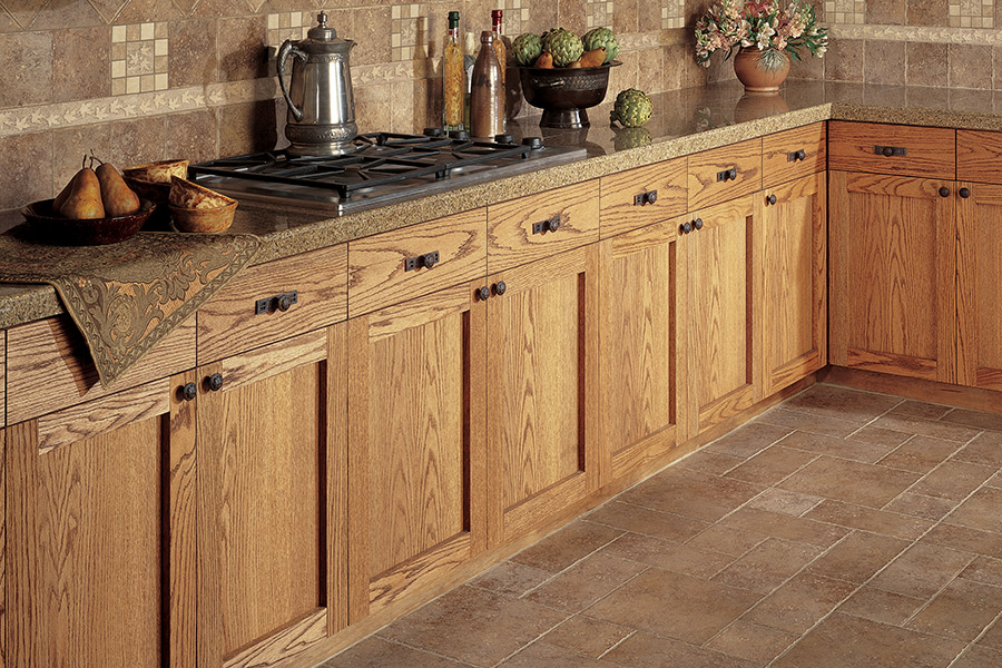 Wood grain cabinets from Finishers Unlimited in Dundee, MI